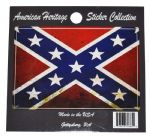Confederate Battle Flag Car Van Or Truck Sticker